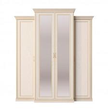 Венето СП.0115.407 шкаф 4-х дверный с пеналами (корпус, боковые двери в комплекте)
