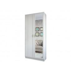 Вега ВМ-05 шкаф 2-х створчатый с зеркалом(SV)