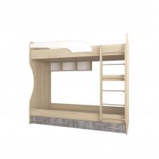 Колибри Лофт кровать двойная комп.№5 (ТЭКС)