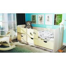Минима кроватка детская Минимв Лего 1632*770*850 (БТС)