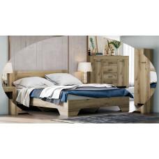 Квадро 1 кровать 1600(Астрид -Мебель)