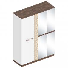 Жасмин шкаф 4-х дверный (Велес)