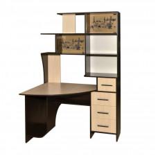 Компьютерный стол КЛ-6.1 левый (Росток)