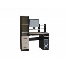 Компьютерный стол КЛ-2.1 стекло(Росток)