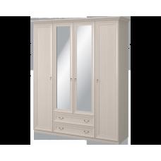 МК57 изд. 290 Шкаф 4-х дв с зеркалом