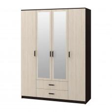 Фиеста шкаф 4-х дверный (БТС)